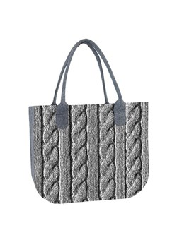 Shopper bag Bertoni boho z filcu