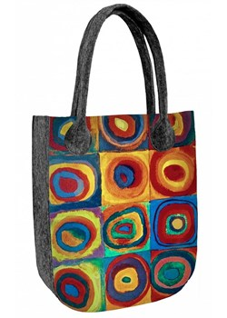 Shopper bag Bertoni w stylu boho