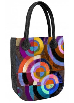 Shopper bag Bertoni z filcu