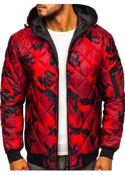Czerwona odzież męska, wyprzedaże, zima 2020 w Domodi