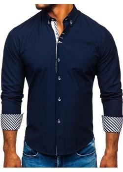 Koszula męska Denley bez wzorów w Domodi