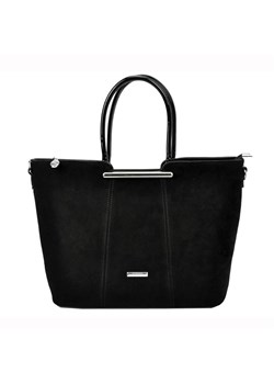 Shopper bag czarna Sylvia Rosa