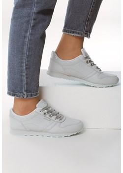 Białe Buty Sportowe Refurbish Renee Buty sportowe damskie