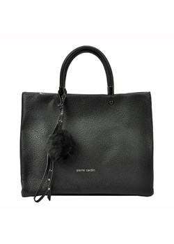 Shopper bag Pierre Cardin czarna