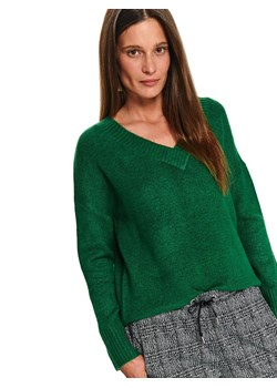 Sweter damski zielony Top Secret