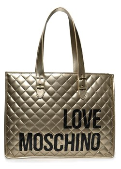 Shopper bag Love Moschino pikowana