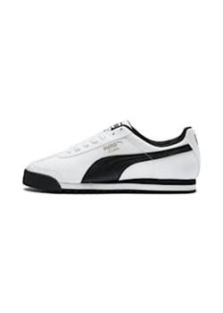 Białe buty sportowe męskie puma, wiosna 2020 w Domodi