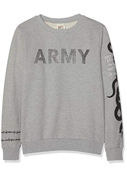 adidas Originals TREFOIL Bluza medium grey heather rozowy Zalando