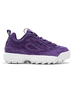 Fioletowe buty damskie fila, wyprzedaże, wiosna 2020 w Domodi