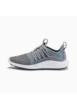 Buty sportowe damskie niebieskie Reebok yourflex wiązane gładkie na płaskiej podeszwie
