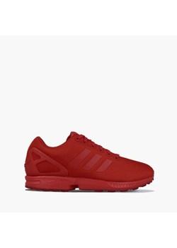Buty sportowe damskie Adidas do fitnessu zx flux sznurowane płaskie bez wzorów