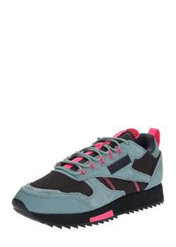 Sneakersy damskie Reebok Classic na platformie młodzieżowe bez wzorów