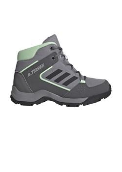 Szare buty trekkingowe dziecięce, wiosna 2020 w Domodi