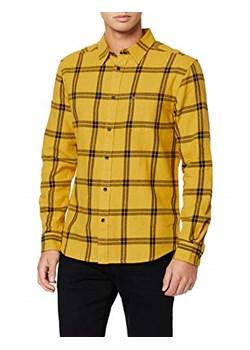 Złote koszule męskie, lato 2020 w Domodi  FNQed