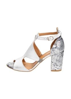 Białe sandały japonki damskie zalando w wyprzedaży, wiosna
