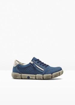 Niebieskie buty, wiosna 2020 w Domodi