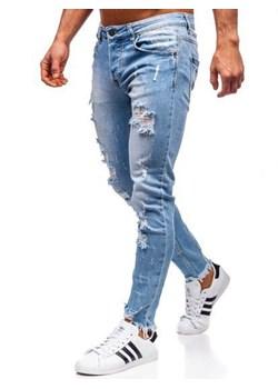 Jeansy męskie, wyprzedaż, wiosna 2020 w Domodi