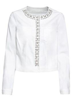Białe kurtki i płaszcze damskie bonprix, wiosna 2020 w Domodi
