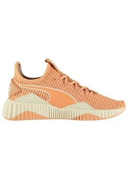 Pomarańczowe buty damskie puma, wiosna 2020 w Domodi