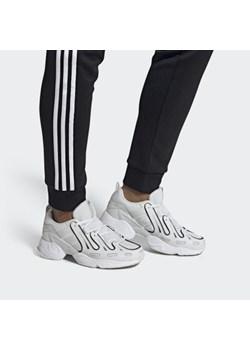 Buty sportowe męskie Adidas eqt support na wiosnę skórzane