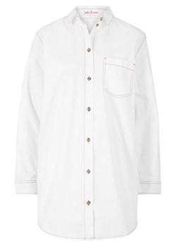 Białe koszule damskie bonprix, wiosna 2020 w Domodi  czlQO