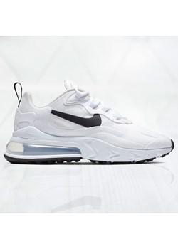 Białe buty sportowe damskie nike air max 270, wiosna 2020 w