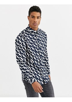 I.n.c International Concepts koszula męska w abstrakcyjne  JAfx8