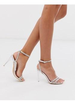 Srebrne sandały damskie, wiosna 2020 w Domodi