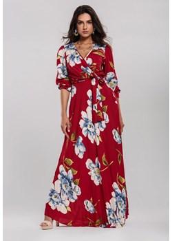 Czerwone sukienki renee, wiosna 2020 w Domodi