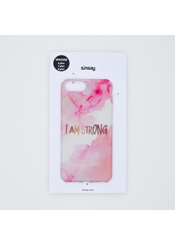 Sinsay - Etui Iphone 6/7/8 plus - Wielobarwny