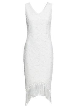 Sukienka Bodyflirt Boutique biała elegancka z koronką