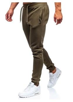 Zielone spodnie męskie, wiosna 2020 w Domodi