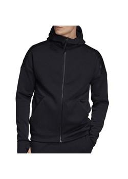 Bluza męska czarna Adidas bez zapięcia w Domodi