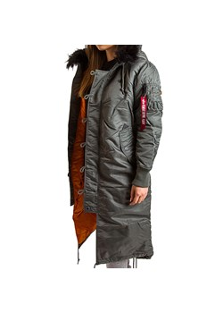 Parka damska Alpha Industries casual jesienna