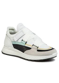 Buty sportowe damskie Ecco z klamrą bez wzorów