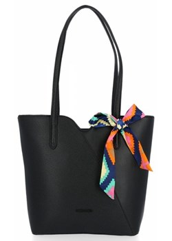 Shopper bag David Jones na ramię elegancka