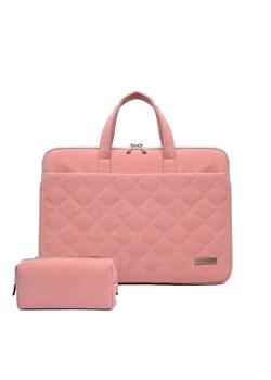 Różowe torby na laptopa, lato 2020 w Domodi
