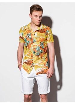 sslr męska koszula tropikalnych plaża czas wolny Aloha  n91iS