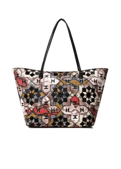 Shopper bag wielokolorowa Desigual