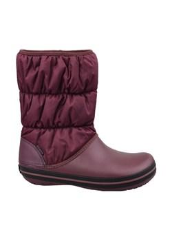 Damskie Buty Zimowe Crocs Tall Suede Boot landersen szary
