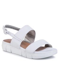 Sandały damskie Crocs z klamrą casualowe na średnim obcasie