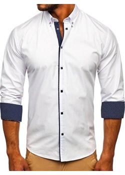 Białe koszule męskie, lato 2020 w Domodi  koYQG