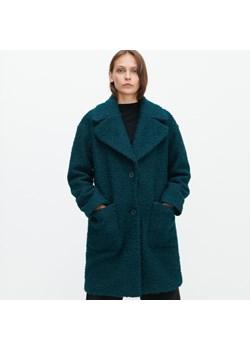 Turkusowe płaszcze damskie, jesień 2020 w Domodi
