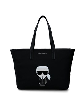 Shopper bag Karl Lagerfeld skórzana