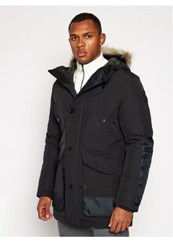 Parka G-Star Raw czarna casualowa