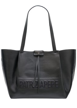 Shopper bag czarna Patrizia Pepe