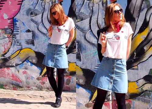 ccbd6866c700b5 Spódnica z guzikami - wiesz jak ją nosić? - Trendy w modzie w Domodi