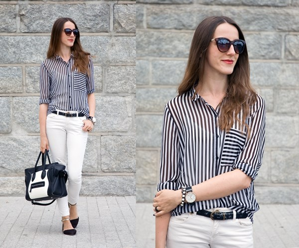 Smart casual in summer