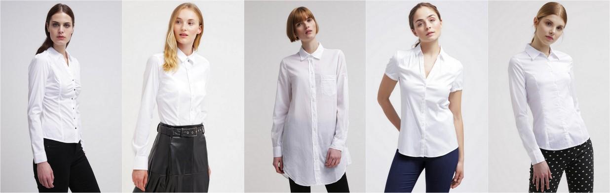 Must have: białe koszule