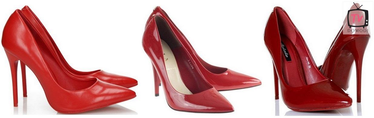 Czerwone szpilki - z czym je nosić?